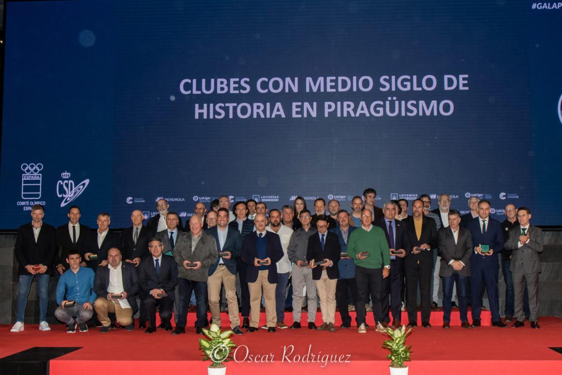 El piragüismo valenciano brilla en la Gala Anual de la Federación Nacional