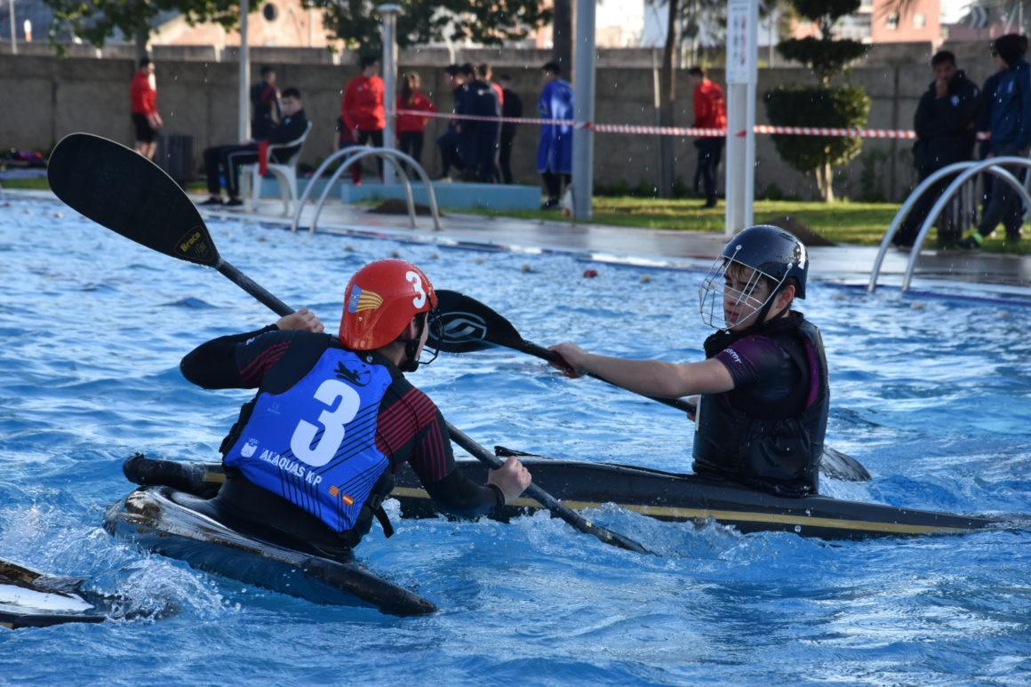 El Club Alaquàs KP y el Club de Regatas Burriana, vencedores en la segunda jornada del Torneo XXI Liga Autonómica Marina Burriananova de kayak polo