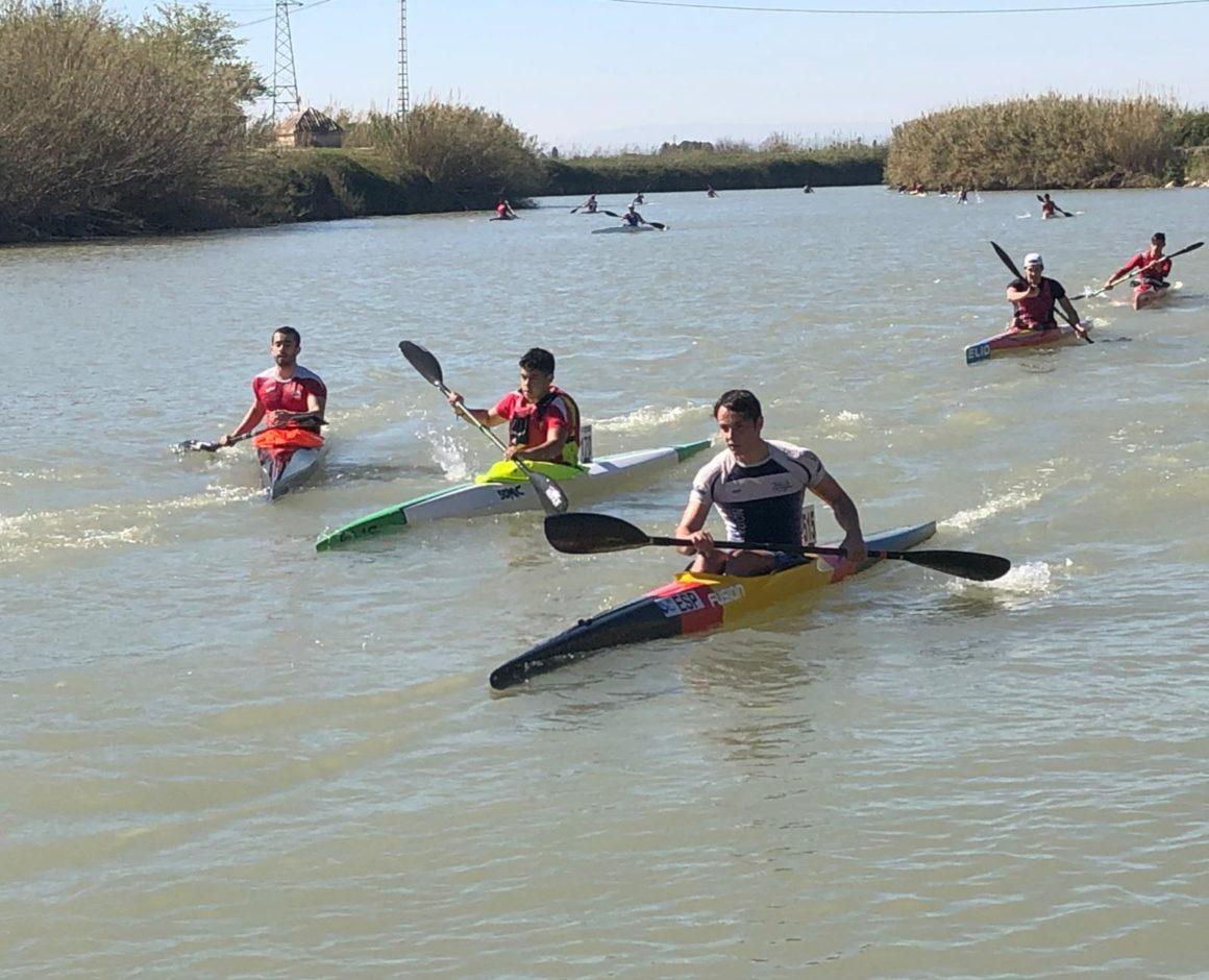El Club Piragüismo Silla brilla en la tercera prueba de la Liga de Invierno de Aguas Tranquilas disputada en Sueca