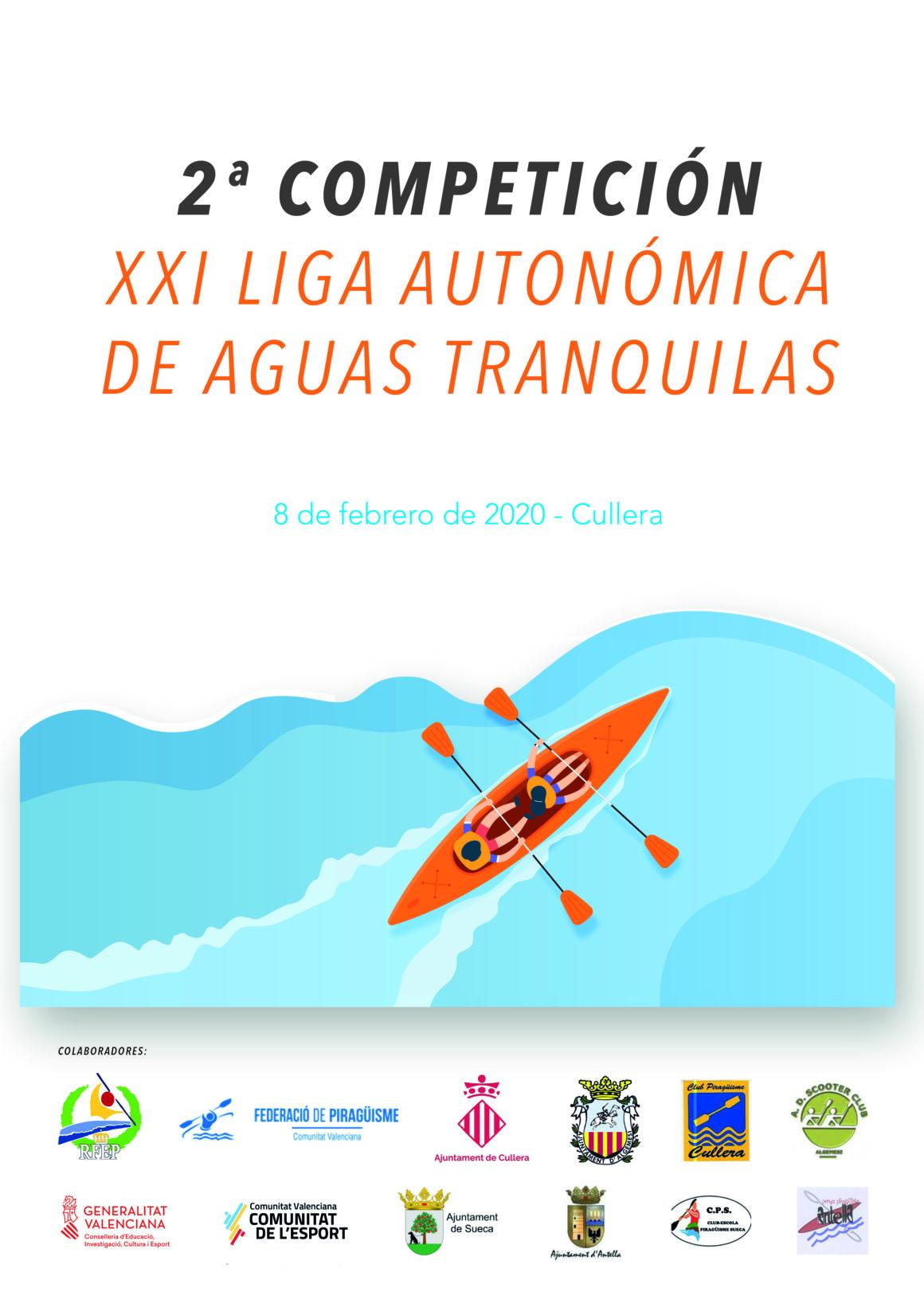 Algemesí y Cullera acogen las primeras jornadas de la Liga Autonómica de invierno de aguas tranquilas