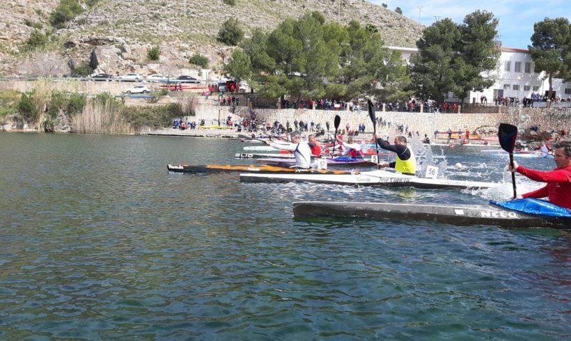 El Club Piragüisme Cullera se corona en la Liga de Invierno de Aguas Tranquilas