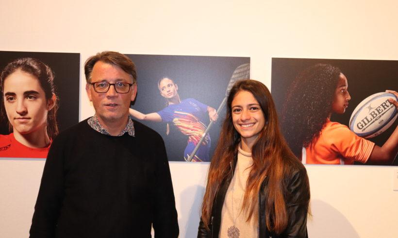 Nerea Bolea representa a la Federación de Piragüismo de la CV en la exposición fotográfica de Confedecom