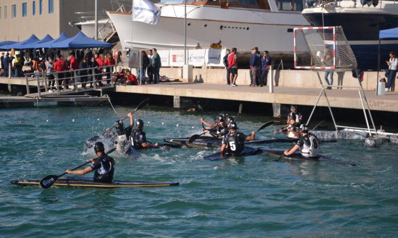 El Real Club Náutico de Castellón, en categoría masculina, y el Picassent Kayak Polo, en sub-21/femenino, se proclaman campeones autonómicos