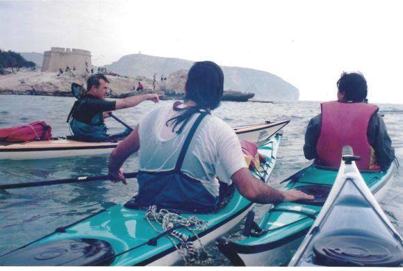 ¿Cómo comenzó el kayak de mar en la Comunitat Valenciana?