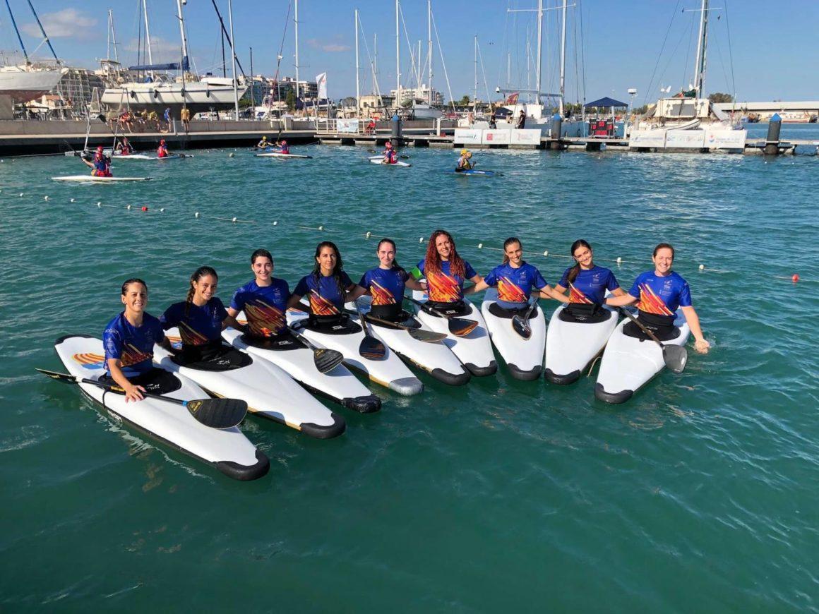Regresa el grupo de tecnificación en la categoría absoluta femenina de kayak polo