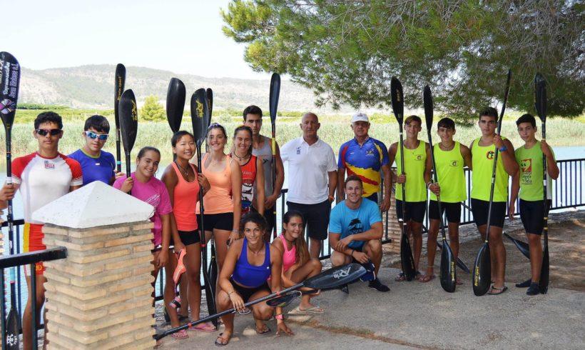 Las instalaciones de la Penya Piragüista Antella, sede de la concentración de aguas tranquilas este fin de semana