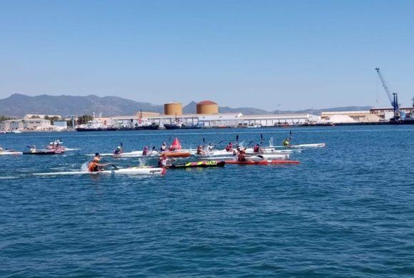 El RCN Castellón, profeta en su tierra en el Autonómico de kayak de mar