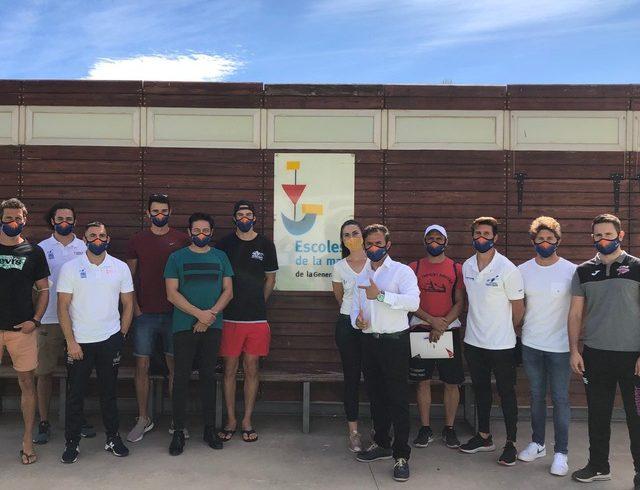Una desena de jugadors participen en una concentració a Borriana de la selecció absoluta masculina de la Comunitat Valenciana